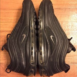 Nike Shoes - Nike Air Max 97 LE GS Black 318001-004 Youth Boys f5f7d46ee